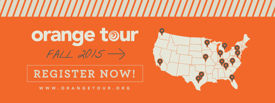 Orange Tour 2015 Registration Opens Today!