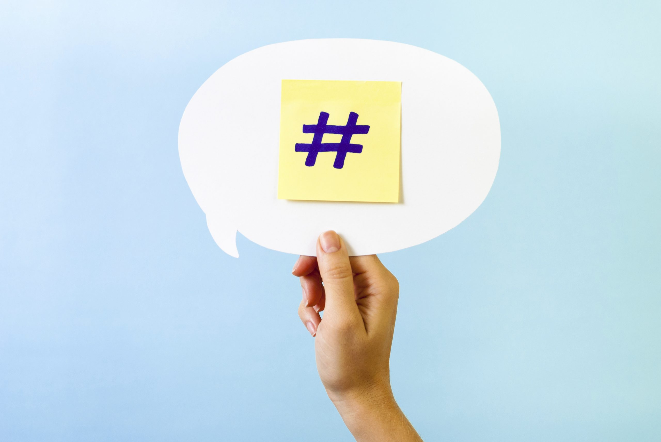 3 Hashtag Tips on Social Media