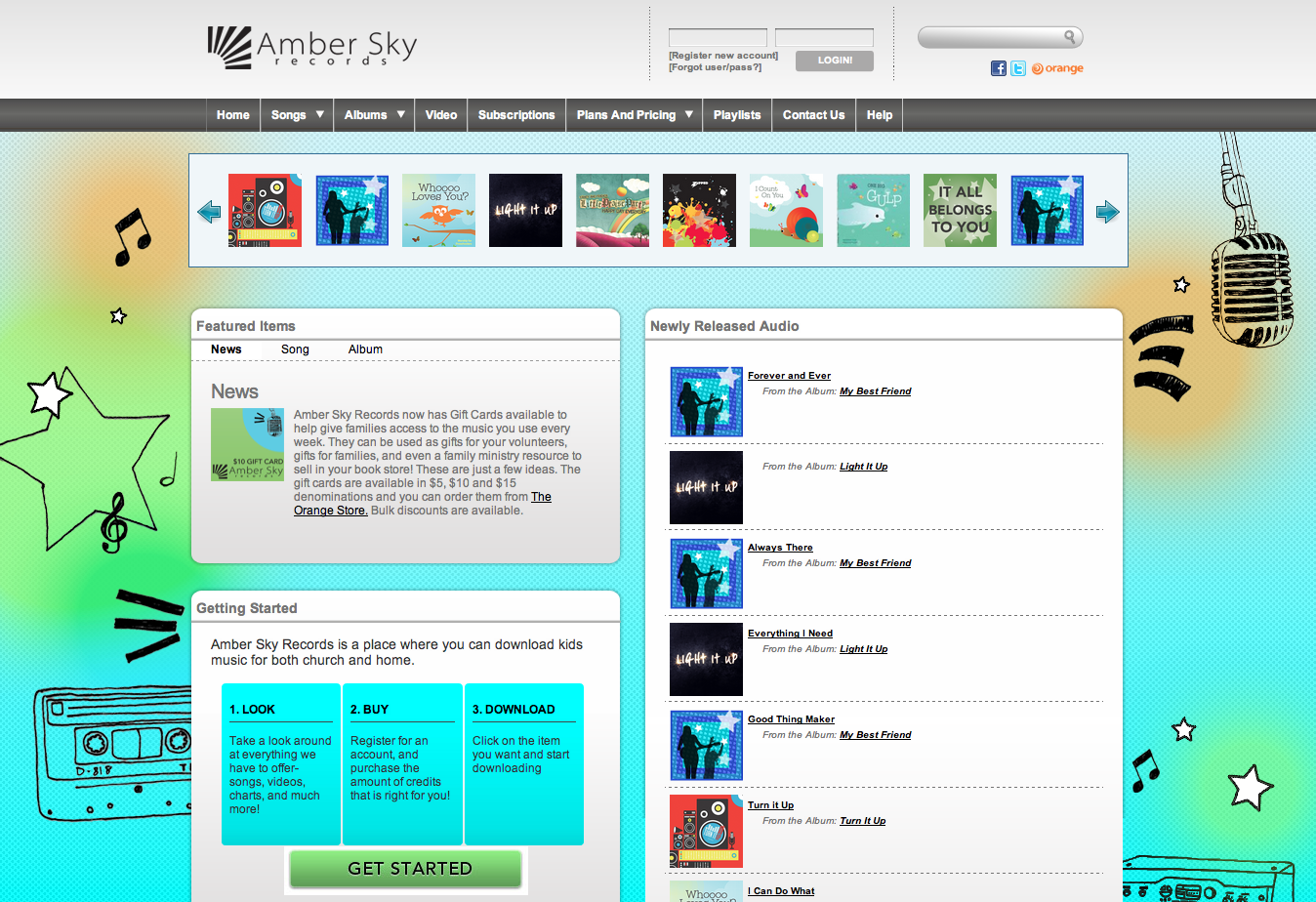 Create Playlists for Families!