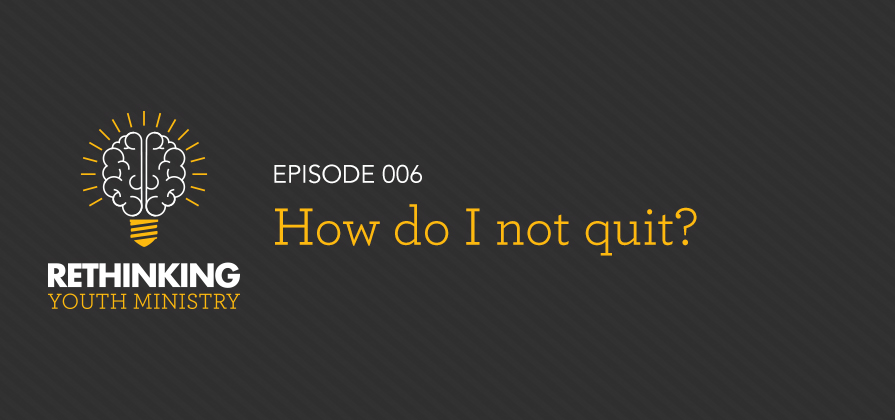 RYM 006: How Do I Not Quit?