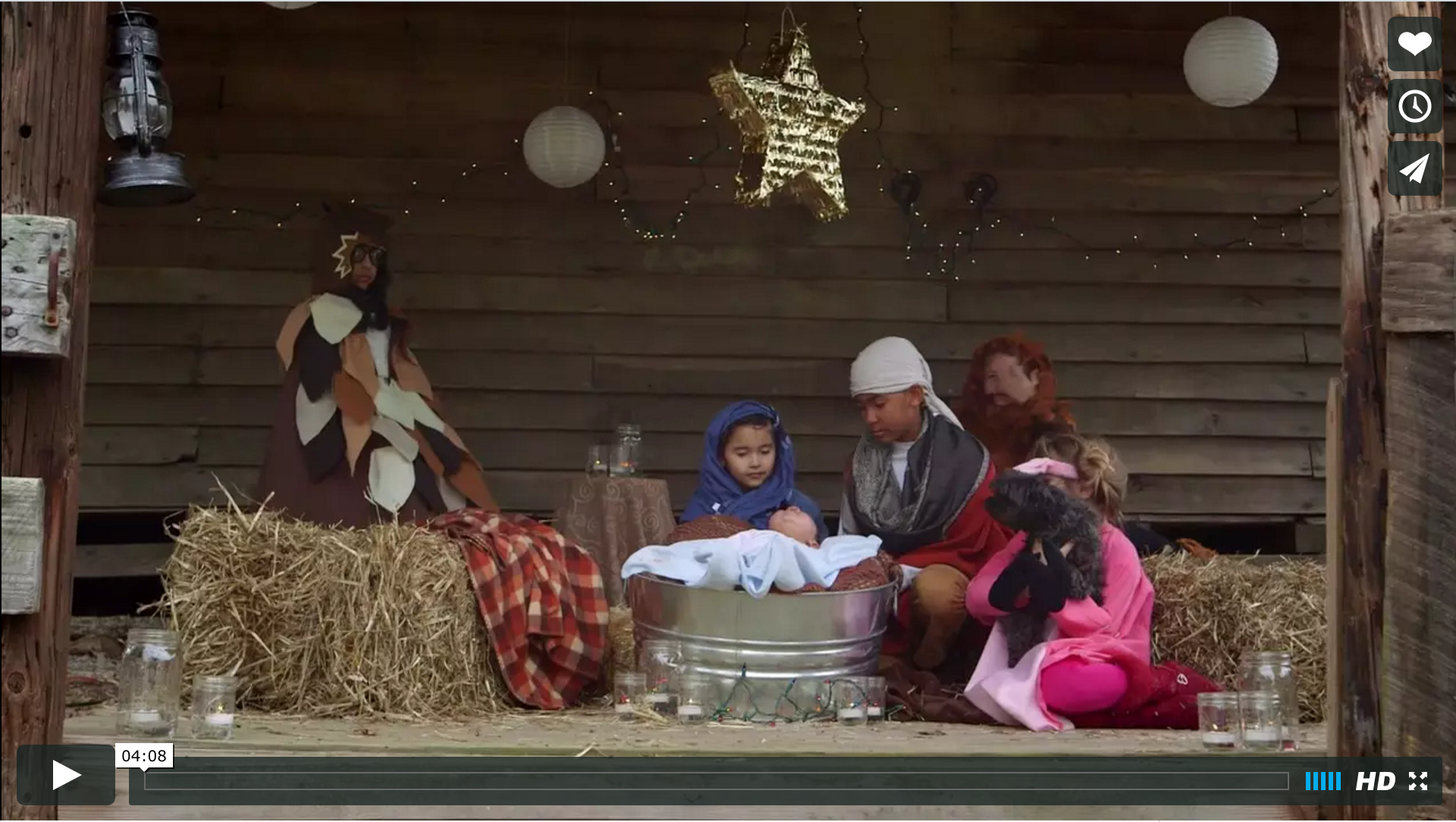 The Christmas Story Retold By Children