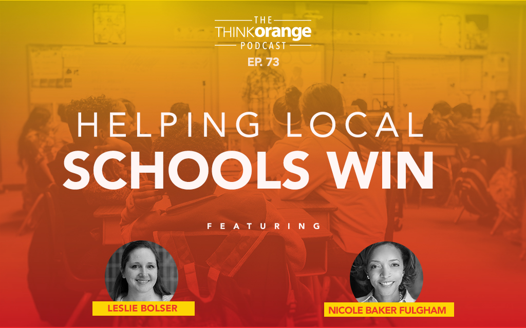 073: Helping Local Schools Win