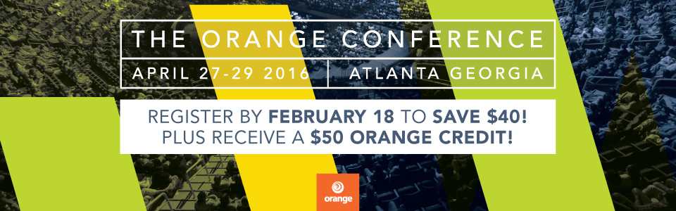 It's Orange Blogger Week!