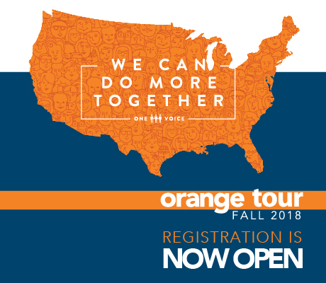 Orange Tour 2018