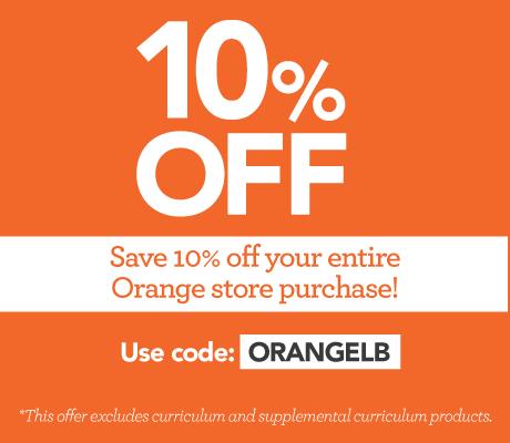 Save 10% on the Orange Store!