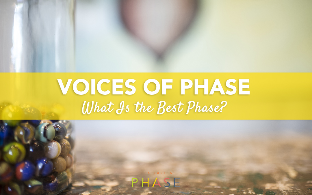 Voices of the Phase Project :: What Is the Best Phase?