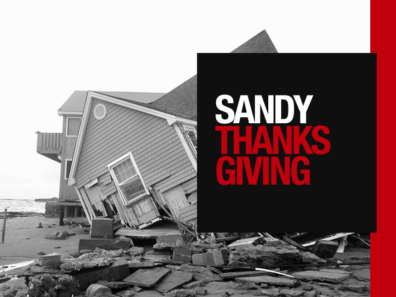 Join in Helping Communities Affected by Hurricane Sandy
