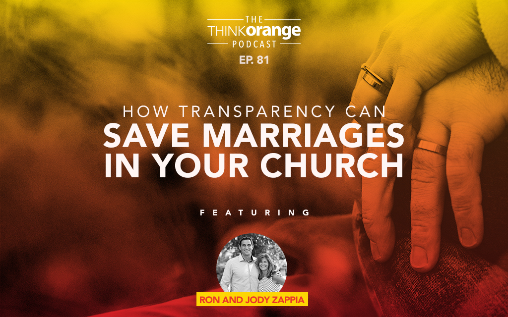 081: How Transparency Can Save Marriages In Your Church