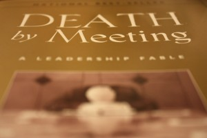 Death by Meeting Book Study, Week 5