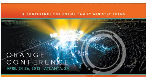 Orange Conference 2013: Laugh. Pray. Talk.
