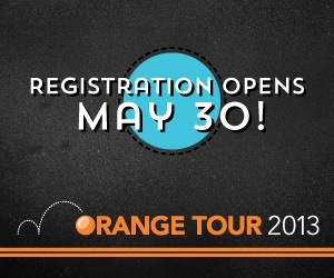 On the Road Again: Orange Tour 2013