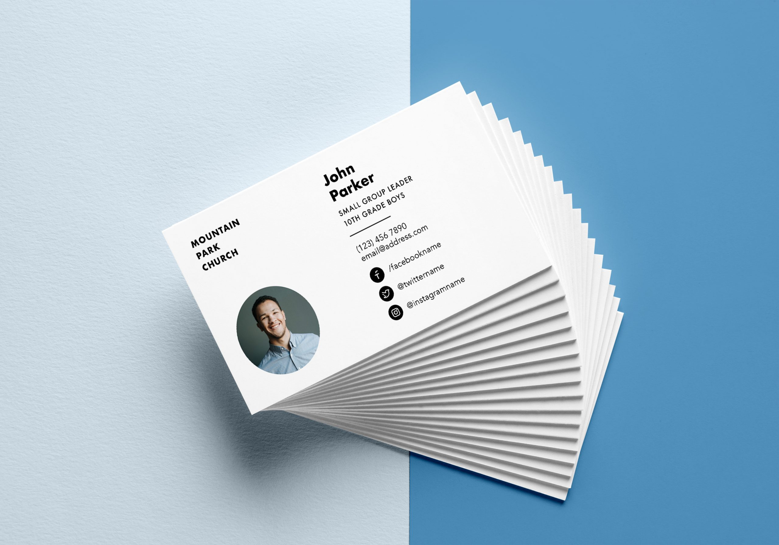 Small Group Leader Business Card