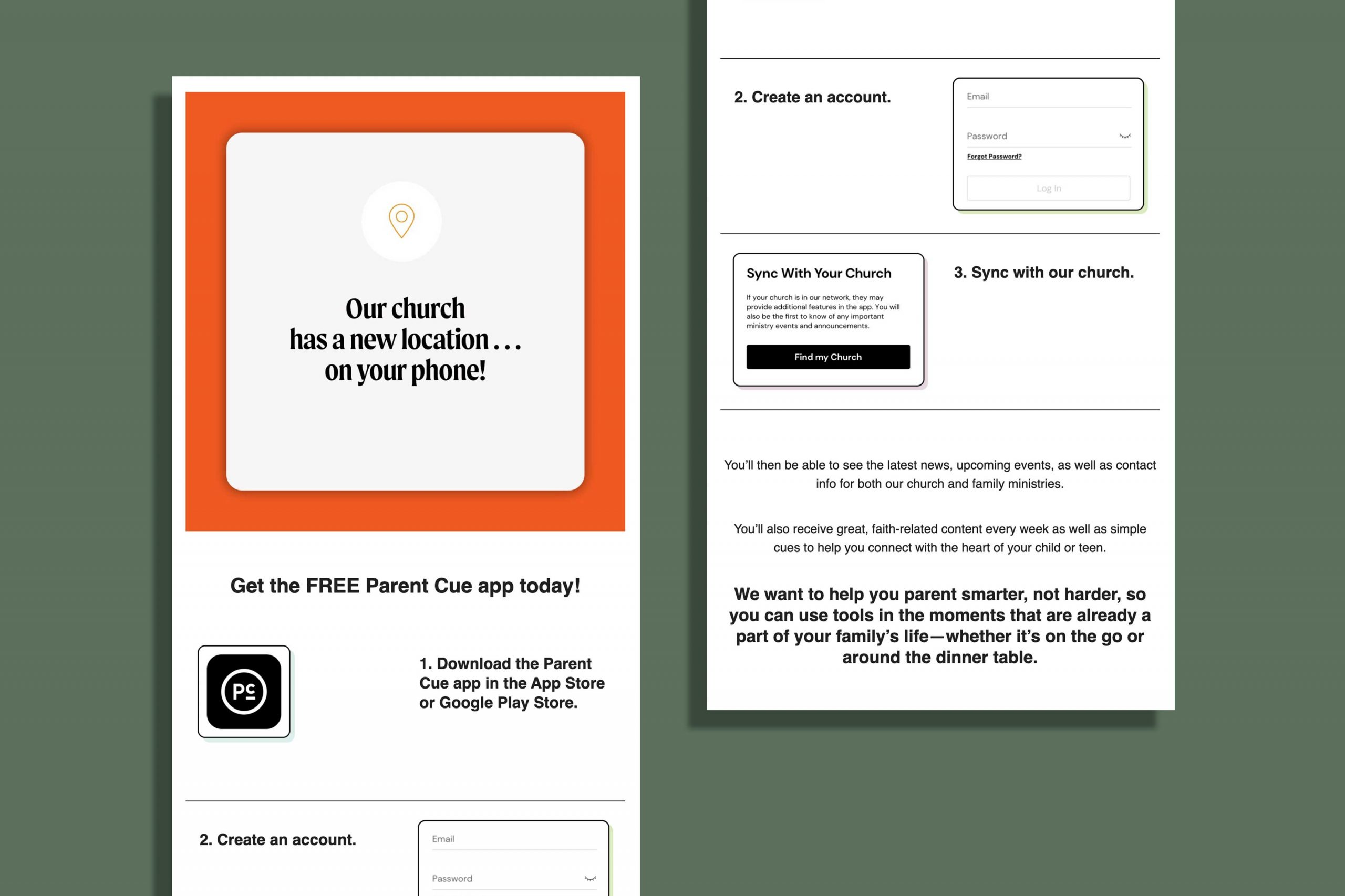 Parent Cue App Promo Kit